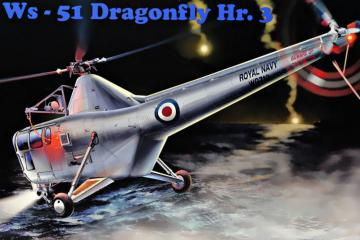 WS-51 Dragonfly Hr.3 Royal Navy · MMR AMP48004 ·  Micro Mir · 1:48