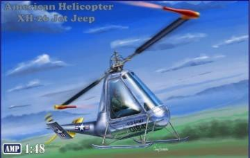 XH-26 American Helicopter · MMR AMP48007 ·  Micro Mir · 1:48