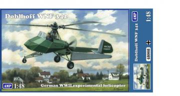 Doblhoff WNF 342 WWII German Experimental Helicopter · MMR AMP48008 ·  Micro Mir · 1:48