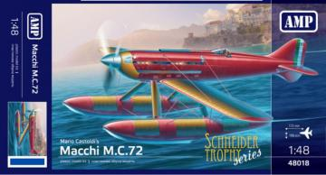 Macchi-Castoldi M.C.72 · MMR AMP48018 ·  Micro Mir · 1:48