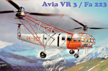 Avia VR 3/ Fa 223 · MMR AMP72005 ·  Micro Mir · 1:72
