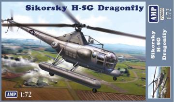 Sikorsky H-5G Dragonfly · MMR AMP72008 ·  Micro Mir · 1:72