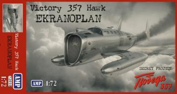 Victory 357 Hawk Ekranoplan · MMR AMP72010 ·  Micro Mir · 1:72