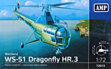 WS-51 Dragonfly HR/3 Royal Navy · MMR AMP72013 ·  Micro Mir · 1:72