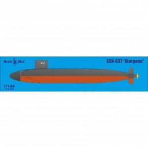 SSN Sturgeon · MMR MM144030 ·  Micro Mir · 1:144