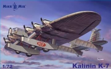 Kalinin K-7 · MMR MM72015 ·  Micro Mir · 1:32