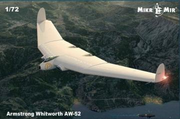 Armstrong Whitworth AW-52 · MMR MM72016 ·  Micro Mir · 1:72