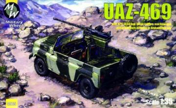 UAZ-469 North alliance Afganistan · MW 3505 ·  Military Wheels · 1:35