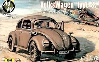 Volkswagen VW Typ 87 · MW 7202 ·  Military Wheels · 1:72