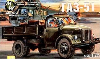 GAZ-51 · MW 7208 ·  Military Wheels · 1:72