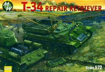 T-34/85 · MW 7211 ·  Military Wheels · 1:72