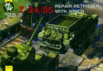 T-34/85 Repair Retriver · MW 7212 ·  Military Wheels · 1:72