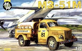 M3-51M on the GAZ-51 · MW 7214 ·  Military Wheels · 1:72