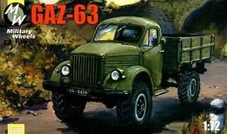 GAZ-63 · MW 7218 ·  Military Wheels · 1:72
