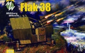 Flak 38 · MW 7224 ·  Military Wheels · 1:72
