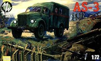 AS-3 on the GAZ-51 · MW 7228 ·  Military Wheels · 1:72