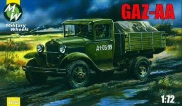 GAZ-AA · MW 7233 ·  Military Wheels · 1:72