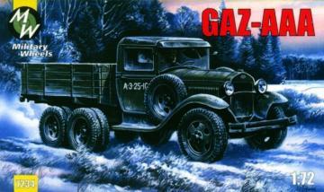 GAZ-AAA · MW 7234 ·  Military Wheels · 1:72
