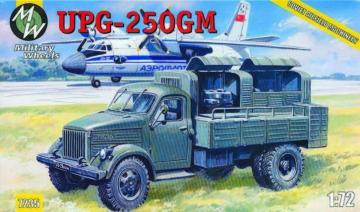 UPG-250GM on the GAZ-51 · MW 7235 ·  Military Wheels · 1:72