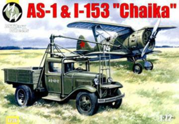 AS-1 and I-153 ´Chaika´ · MW 7236 ·  Military Wheels · 1:72