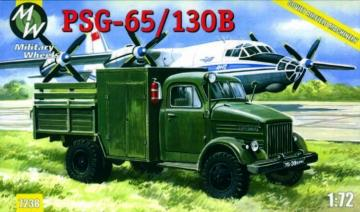 PSG-65/130B on the GAZ-51 · MW 7238 ·  Military Wheels · 1:72
