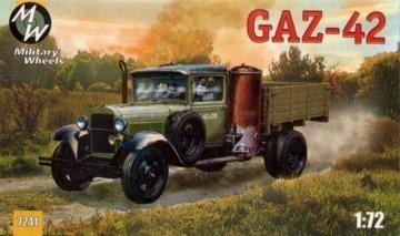 GAZ-42 Soviet truck · MW 7241 ·  Military Wheels · 1:72
