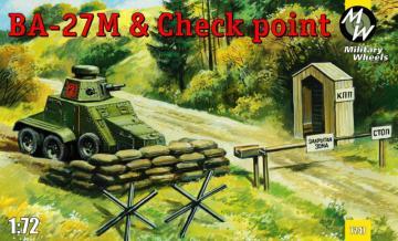 Ba-27M & Checkpoint · MW 7247 ·  Military Wheels · 1:72