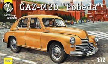 GAZ-M20 Pobeda Soviet car · MW 7248 ·  Military Wheels · 1:72