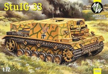 StulG 33 German self-propelled gun · MW 7249 ·  Military Wheels · 1:72
