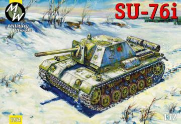 SU-76i · MW 7254 ·  Military Wheels · 1:72