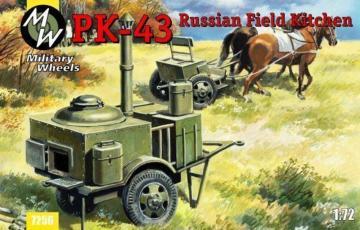 PK-43 Russian field kitchen · MW 7256 ·  Military Wheels · 1:72