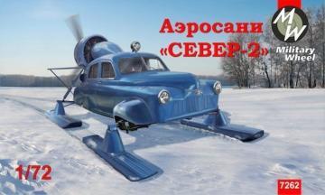 Soviet aerosanSever-2 (North-2) · MW 7262 ·  Military Wheels · 1:72