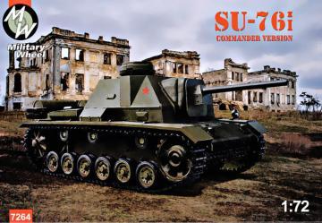 Su-76i commander tower version · MW 7264 ·  Military Wheels · 1:72
