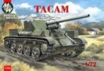 Tacam self-propelled gun · MW 7268 ·  Military Wheels · 1:72