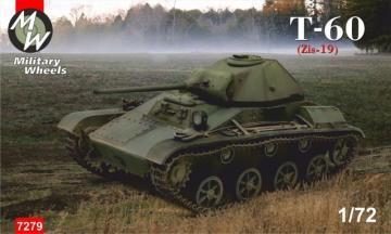 T-60 (Zis-19) · MW 7279 ·  Military Wheels · 1:72