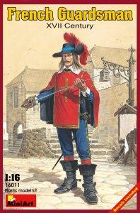 Französische Garde XVII. Jhdt. · MA 16011 ·  Mini Art · 1:16