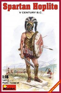 Spartanischer Hoplit V. Jhdt. v.Chr. · MA 16012 ·  Mini Art · 1:16