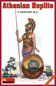 Athenischer Hoplite V. Jhdt.v. Chr. · MA 16014 ·  Mini Art · 1:16