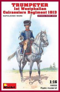 Trumpeter. 1st Westphalian Regiment 1813 · MA 16033 ·  Mini Art · 1:16
