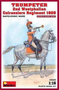 Trumpeter 2nd Westphalian Cuirassiers Regiment 1809 · MA 16035 ·  Mini Art · 1:16