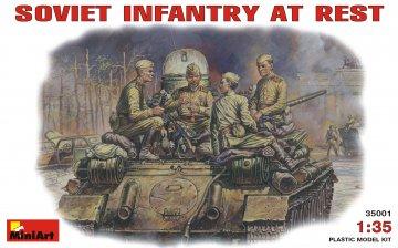 Sowj. Panzerbesatzung bei der Pause bei der Pause · MA 35001 ·  Mini Art · 1:35