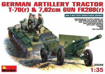 Deutsche T-70+76,2mm FK 288 mit Crew · MA 35039 ·  Mini Art · 1:35