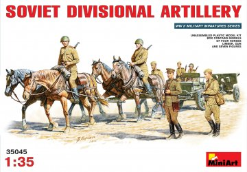 Soviet Divisional Artillery · MA 35045 ·  Mini Art · 1:35