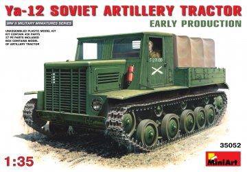 Sowj. Artillerie Zugmaschine Ya-12.Early · MA 35052 ·  Mini Art · 1:35