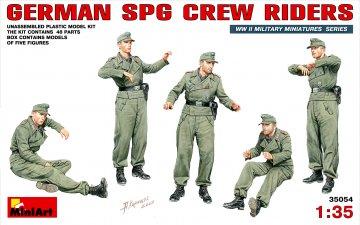 Deutsche SPG Crew Mitfahrer · MA 35054 ·  Mini Art · 1:35