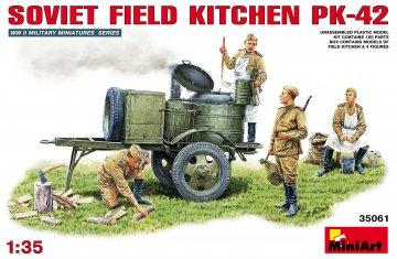 Sowjetische Feldküche KP-42 · MA 35061 ·  Mini Art · 1:35