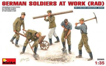 Deutsche Soldaten bei der Arbeit (Rad) · MA 35065 ·  Mini Art · 1:35