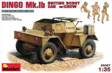 Britischer Spähwagen Dingo Mk Ib · MA 35067 ·  Mini Art · 1:35