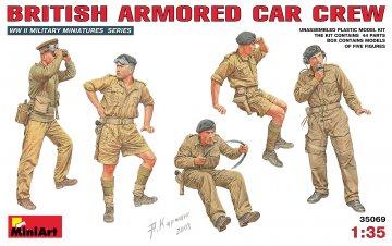 Britische Panzerwagen-Crew · MA 35069 ·  Mini Art · 1:35