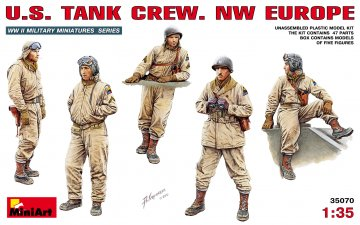 U.S. Panzerbesatzung (Europa) · MA 35070 ·  Mini Art · 1:35